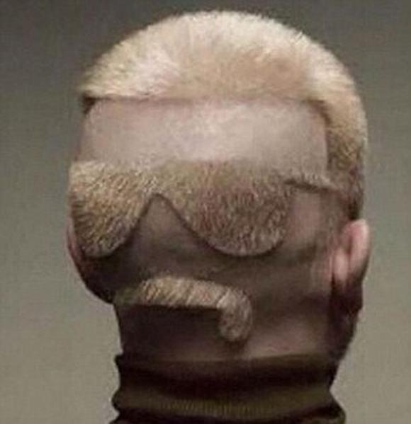 Ảnh hài hước về những kiểu tóc lạ 11