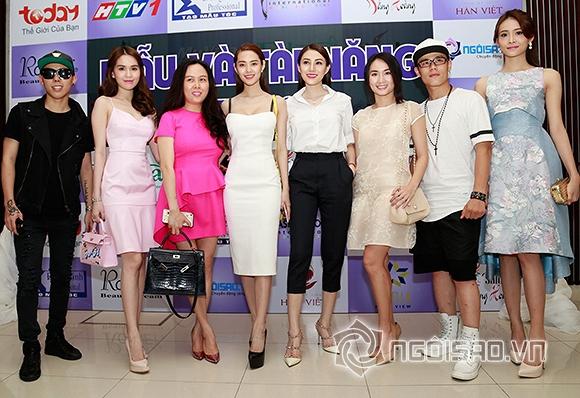 Sao Việt khoe sắc trong buổi ra mắt cuộc thi Mẫu và Tài năng Việt Nam 2015