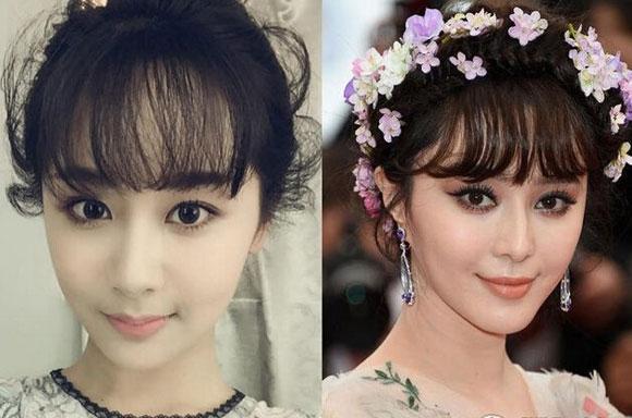 Nữ diễn viên 9x gây bất ngờ vì gương mặt giống loạt sao Hoa ngữ 4