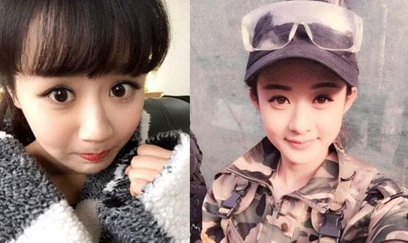 Nữ diễn viên 9x gây bất ngờ vì gương mặt giống loạt sao Hoa ngữ 5