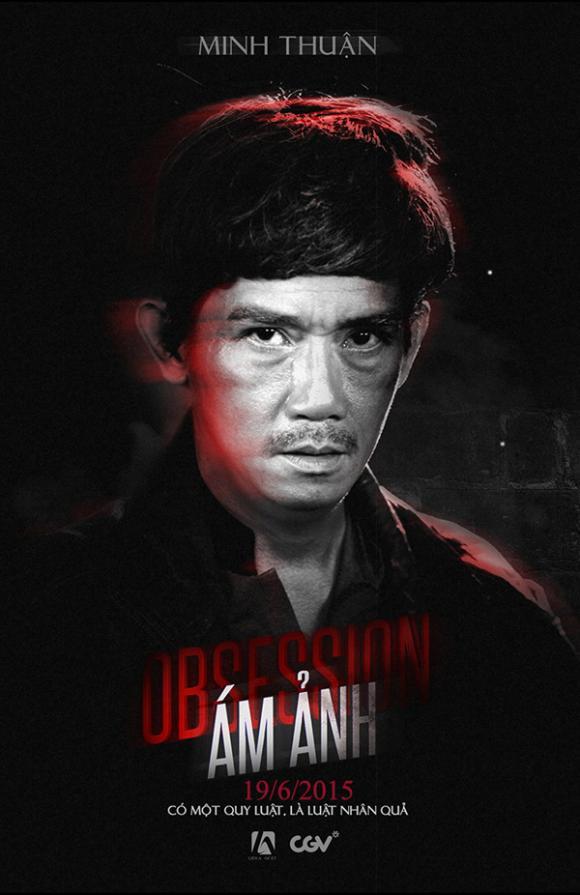 Phim Ám ảnh hé lộ poster kinh dị rung rợn 1