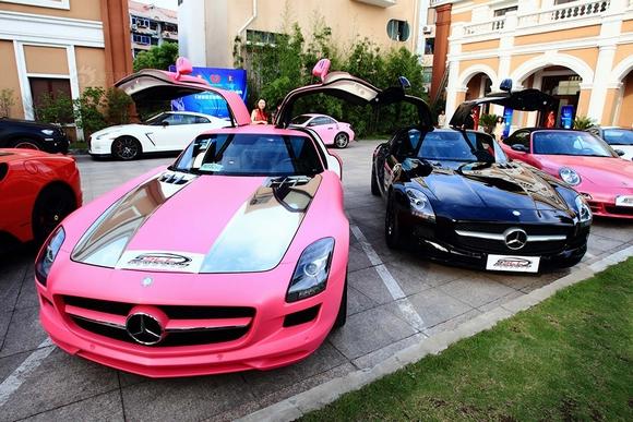 Choáng ngợp dàn siêu xe của hội 'dân chơi' ở Trung Quốc 3