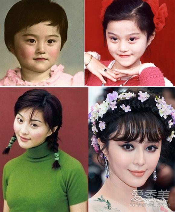 Mỹ nhân Hoa ngữ đẹp từ bé 7