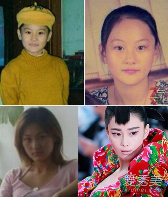 Mỹ nhân Hoa ngữ đẹp từ bé 3