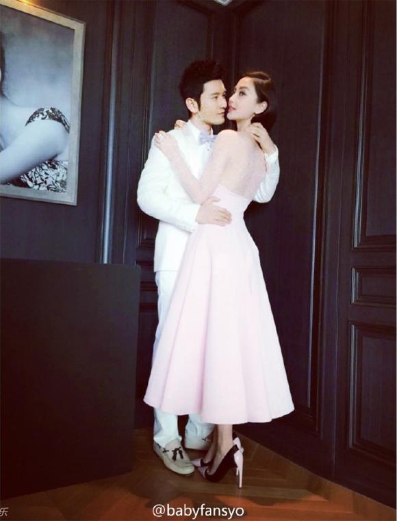Lộ ảnh cưới của Huỳnh Hiểu Minh và Angela Baby 9