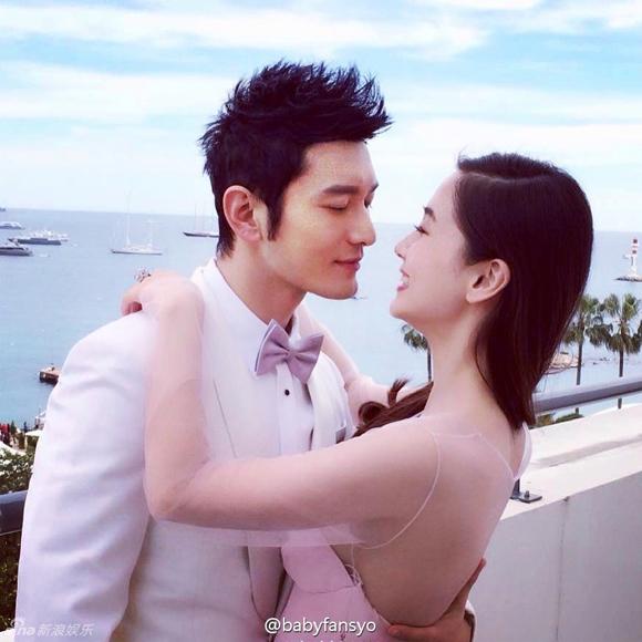 Lộ ảnh cưới của Huỳnh Hiểu Minh và Angela Baby 10