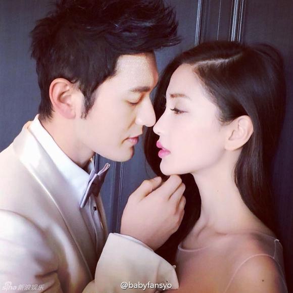 Lộ ảnh cưới của Huỳnh Hiểu Minh và Angela Baby 2