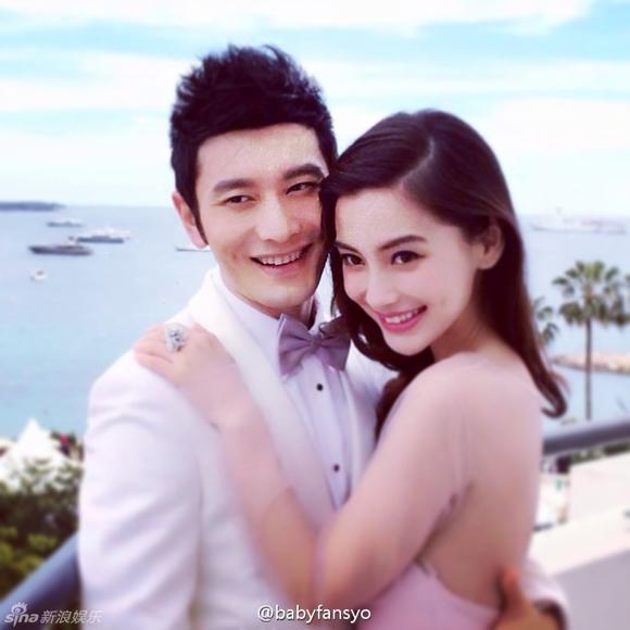 Lộ ảnh cưới của Huỳnh Hiểu Minh và Angela Baby 6