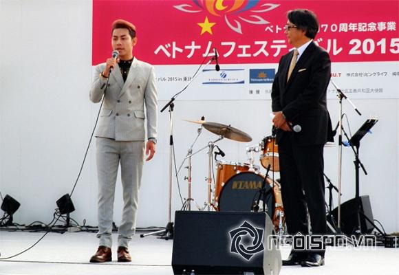 Ca sĩ Tokyo Vũ, Tokyo Vũ dạo quanh Nhật Bản bằng trực thăng, sao Việt