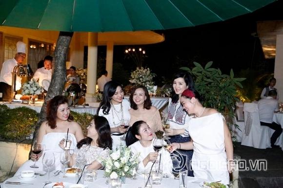 Hoa hậu Giáng My tổ chức tiệc năm mới trong biệt thự triệu đô