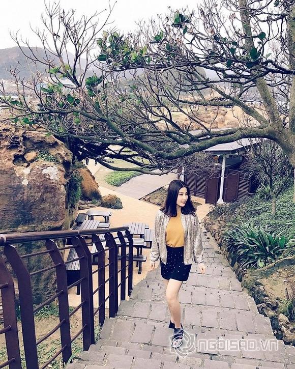 Diễm My 9X rạng rỡ, xinh đẹp ở Đài Loan