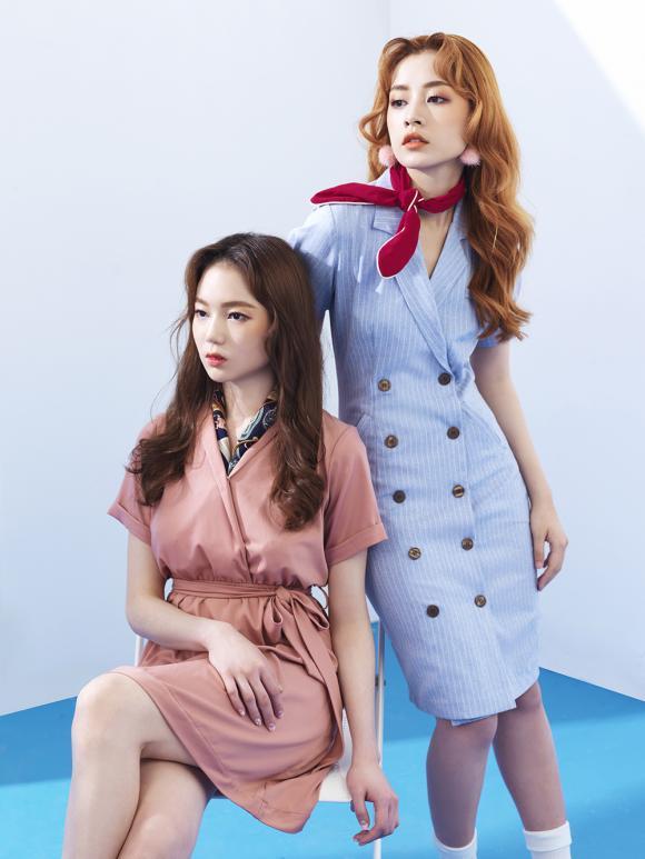 Chi Pu 'chất lừ' cùng hoa hậu Hàn Quốc Lee Sarah trong bộ sưu tập thời trang tự sản xuất