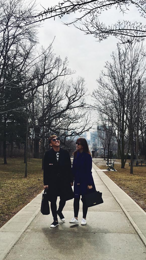 Hari Won và Trấn Thành đưa nhau du hí Canada