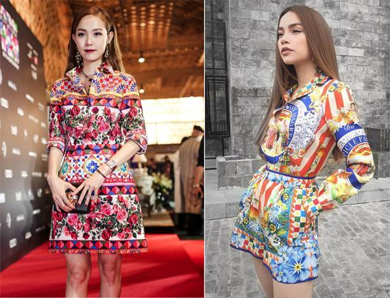 Hồ Ngọc Hà bực mình vì bị nghi đụng ý tưởng thời trang với Minh Hằng?