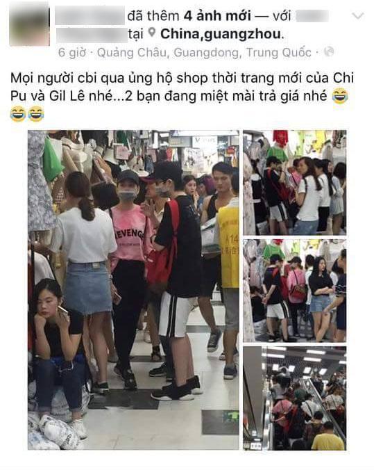 Bị nghi lấy hàng Quảng Châu bá trong shop mới khai trương, Chi Pu đáp trả
