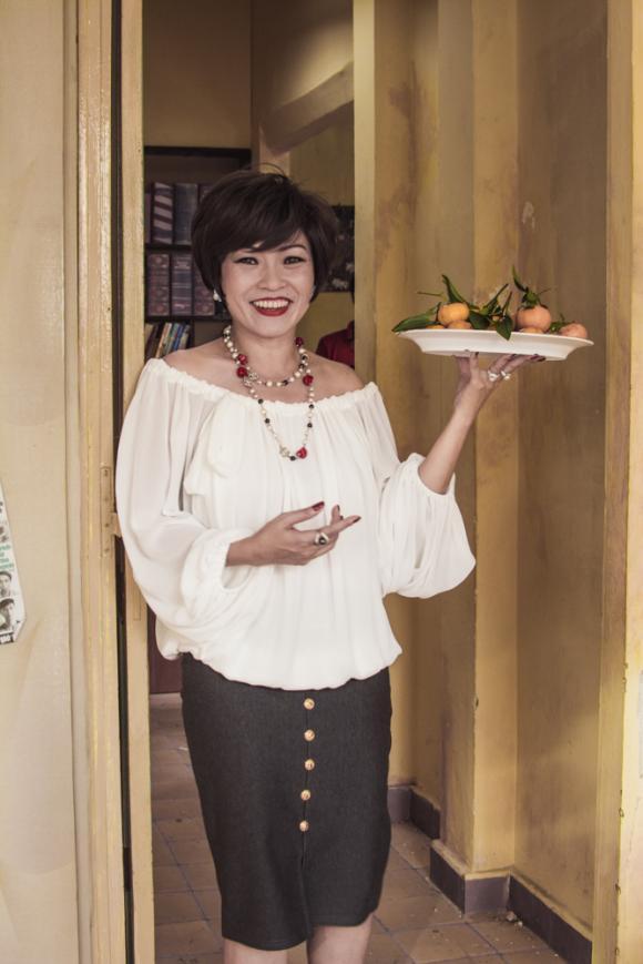 Phương Thanh bị tét môi khi đảm nhận vai bà cô Thị Nở trong 'Chí Phèo ngoại truyện'