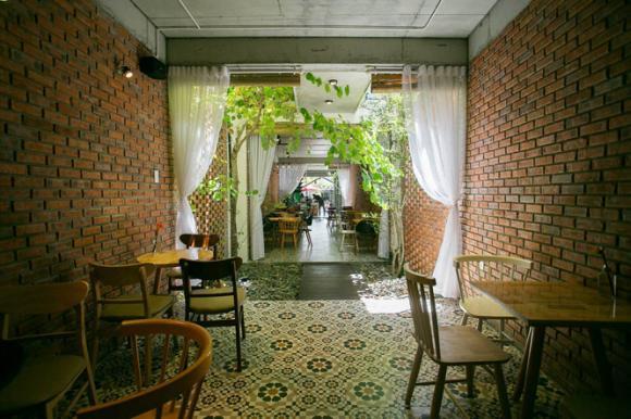 mẫu nhà đẹp, thiết kế quán cà phê, nhà kiêm cà phê,