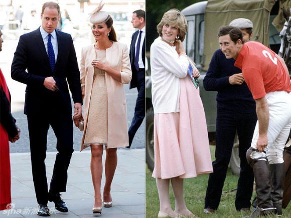 Công nương Kate,Công nương Diana,Công nương Kate Middleton