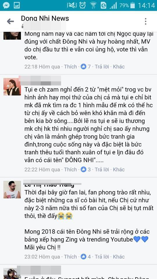 Đông Nhi, ca sĩ Đông Nhi, Đông Nhi và fan