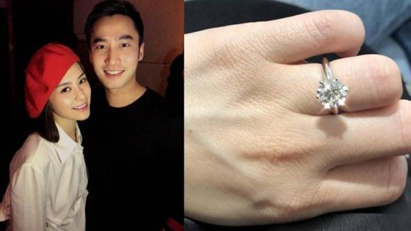 Chung Hân Đồng, nhẫn đính hôn, phi công trẻ cầu hôn