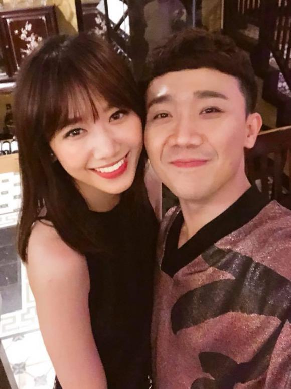 MC Trấn Thành, Trấn Thành và Hari Won, Tiến Đạt