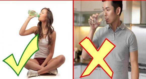 uống nhiều nước, thời điểm không nên uống nhiều nước, thời điểm uống nhiều nước có hại