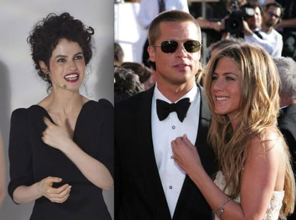 Jennifer Aniston, Brad Pitt, Neri Oxman