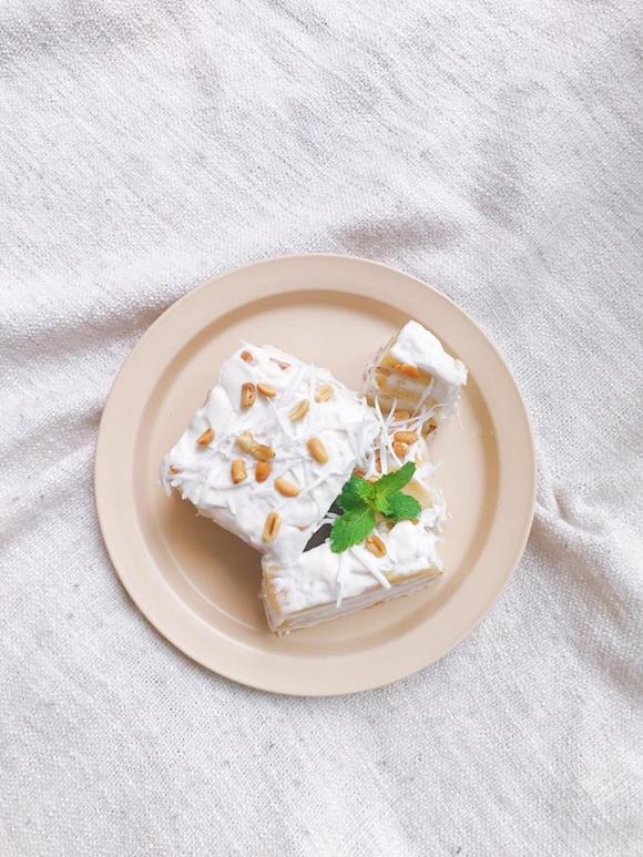 công thức làm kem chuối cốt dừa, kem chuối cốt dừa, kem chuối, Kiên Hoàng