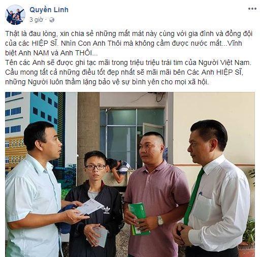 sao Việt, hiệp sĩ Sài Gòn tử nạn, Tuấn Hưng, Quyền Linh,
