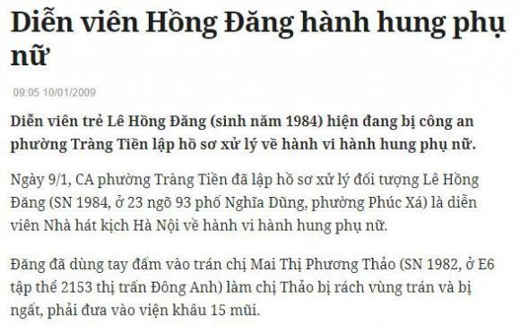 Phạm Anh Khoa,Phạm Anh Khoa xin lỗi,diễn viên Hồng Đăng,sao Việt