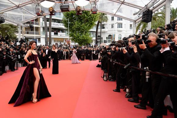 Lý Nhã Kỳ,LHP Cannes,sao Việt, tạp chí VOGUE Pháp