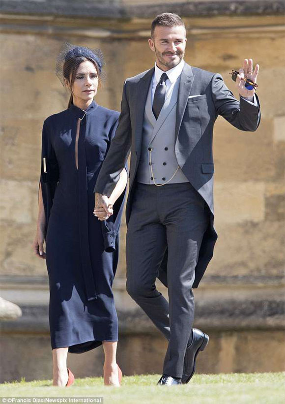 David Beckham, Victoria, sao hollywood