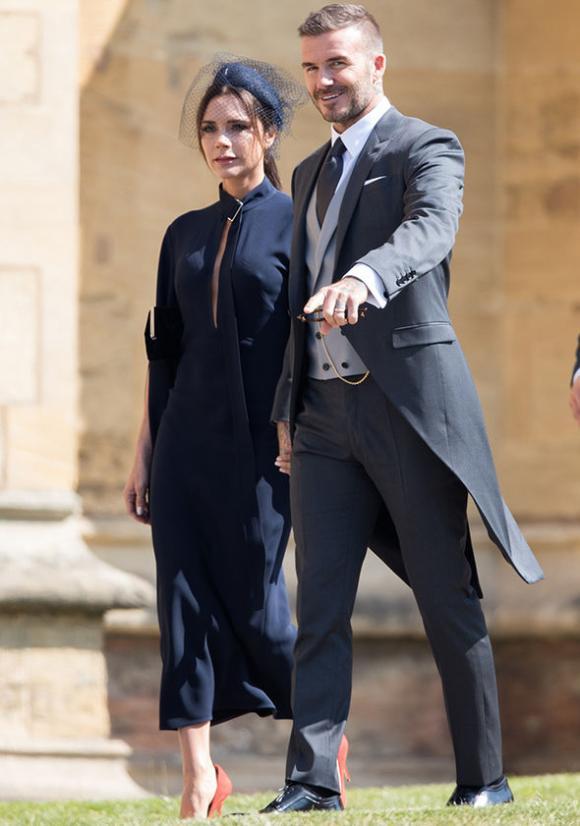 Victoria Beckham, đám cưới hoàng tử Harry, David Beckham