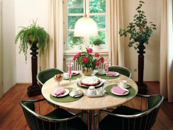 phong thủy, phong thủy bàn ăn, phong thủy phòng ăn, vị trí bàn ăn