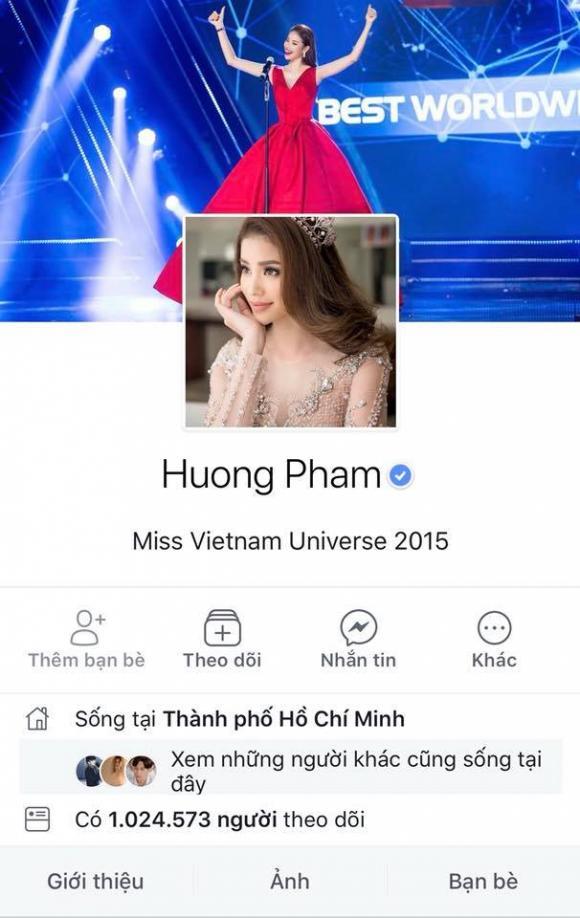 Phạm Hương,Phạm Hương mở lại Facebook,sao Việt