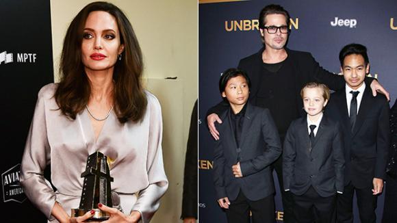Diễn viên Angelina Jolie,cuộc chiến giành quyền nuôi con của sao, sao Hollywood