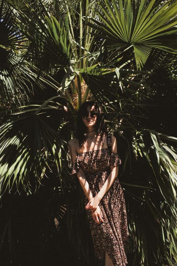 Hoa hậu Kiều Ngân say đắm trước vẻ đẹp thiên nhiên ở Mỹ