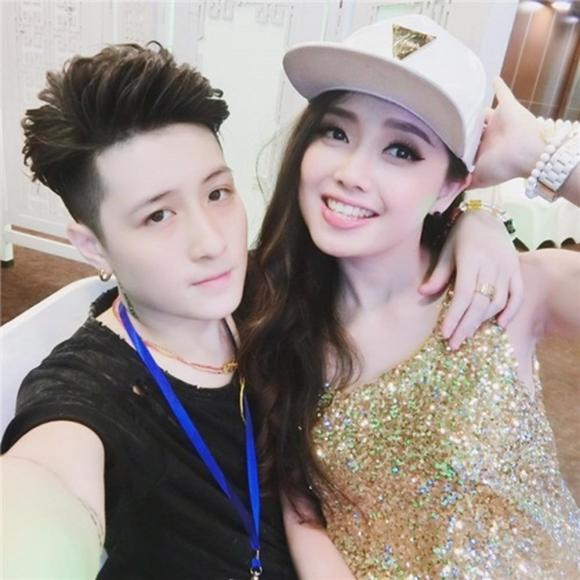 MC Ngọc Trang, Lin Jay, sao Việt