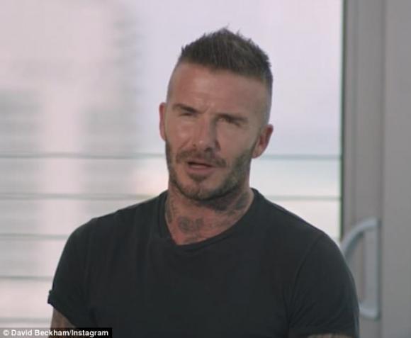 ngôi sao David Beckham,gia đình David Beckham,Ngày của cha