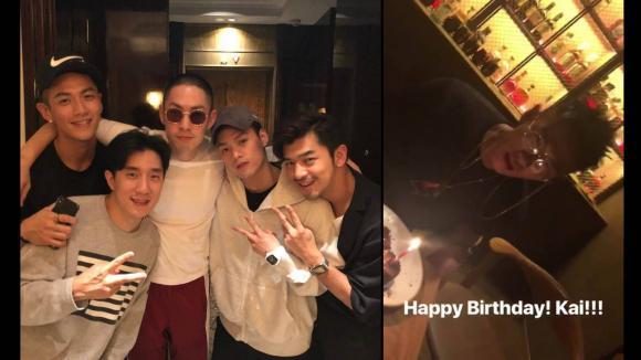 Ngô Kiến Hào vui vẻ đi dự sinh nhật Kha Chấn Đông sau tin ly hôn vợ