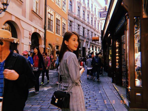 Ngọc Thảo cùng bạn trai 'soái ca' tận hưởng chuyến du lịch lãng mạn ở Châu Âu