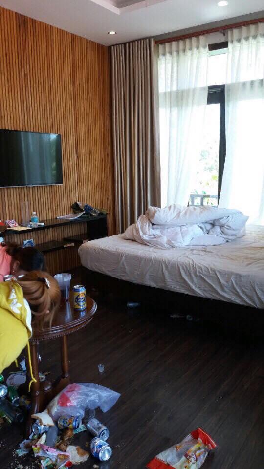 Khách Sạn, Hình Ảnh Ở Khách Sạn, Hành Khách Kém Ý Thức