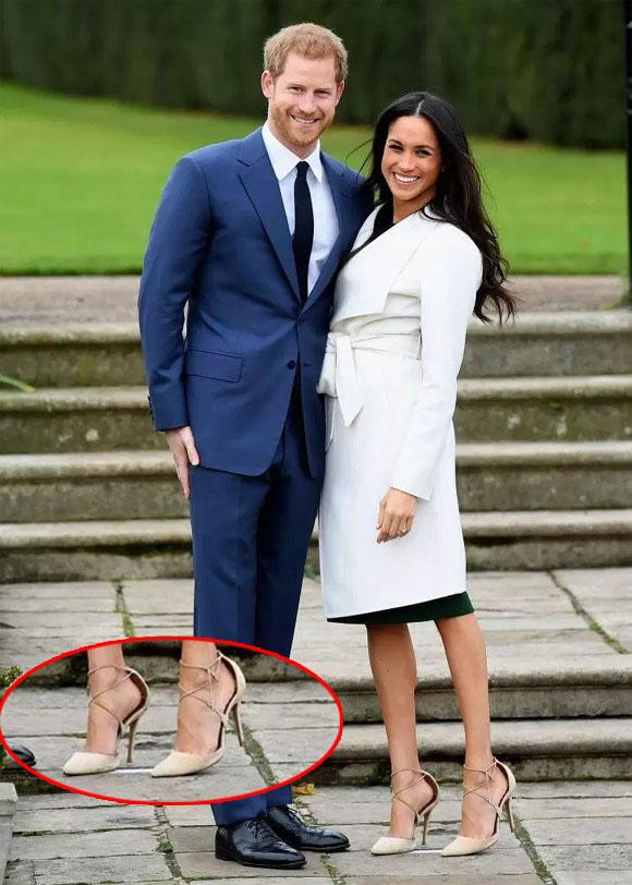 Vì sao Công nương Meghan Markle luôn đi giày rộng hơn cỡ chân? Đây chính là lý do ai cũng nên học theo!