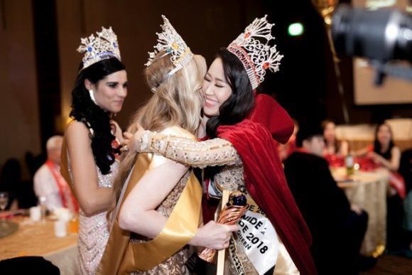 Hoa hậu Phụ nữ Toàn thế giới Dương Thùy Linh lên tiếng khi bị tố xâm phạm tác quyền