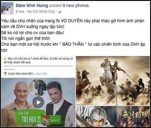 sao Việt, Thu Minh, Đàm Vĩnh Hưng