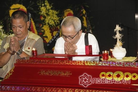 Chí Phèo,Bùi Cường,sao Việt,đám tang NSƯT Bùi Cường