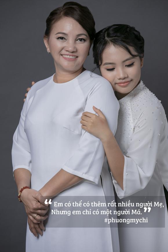 Phương Mỹ Chi,mẹ của Phương Mỹ Chi,sao Việt, mùa vu lan