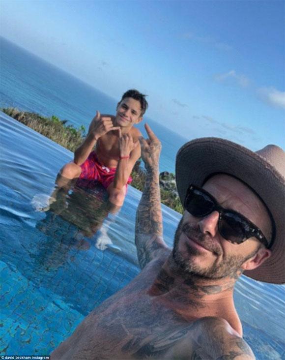 David Beckham, Victoria Beckham, sao hollywood