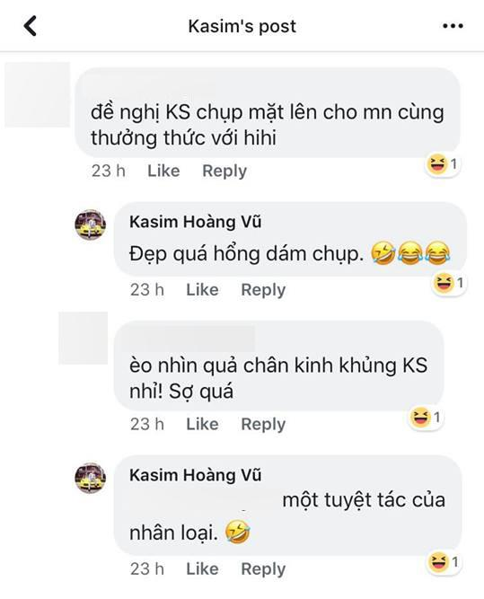 Kasim Hoàng Vũ, sao Việt