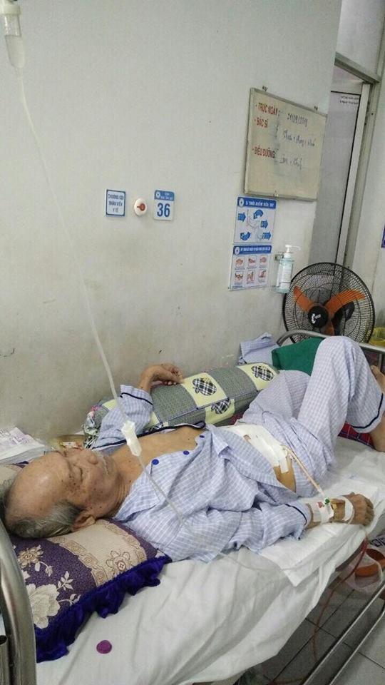 Nghệ sĩ Hồng Vân kêu gọi giúp đỡ cho 'cha đẻ' vở cải lương 'Xin một lần yêu nhau' đang bị ung thư ruột